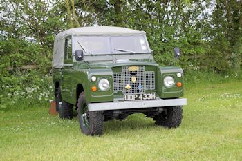 1970 Series III Land Rover