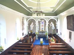 church interior, east end